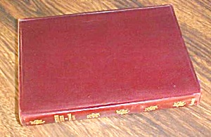 Dickens Christmas Stories Leather 1900's (Image1)