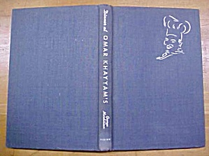 Dinner At Omar Khayyams Cookbook 1944 Signed (Image1)