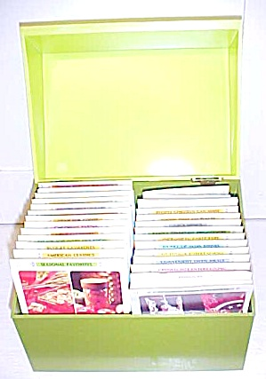 Betty Crocker Recipe Card Library w/Box (Image1)