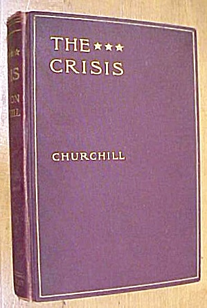 The Crisis Book Winston Churchill 1901