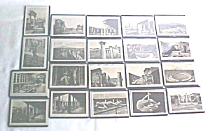 Photo Postcards Miniature Pompei Italy Vintage