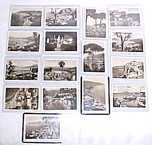 Postcards Miniature Sorrento Italy 16 Pc