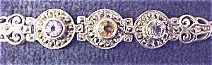 Bracelet Sterling Silver Topaz Amethyst Citrine (Image1)