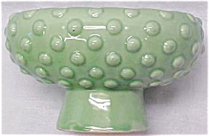 Green Pottery Planter Bowl Bubble Design (Image1)