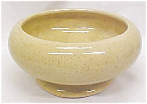 Pottery Planter Bowl Gold Speckled (Image1)