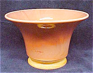 US Glass Sweetpea Vase Coral Red 1921 (Image1)