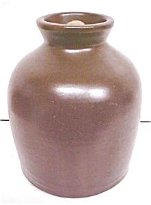 Stoneware Crock Jug Creamy Chocolate Bronze (Image1)