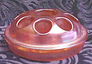 Flower Frog Carnival Glass Large 1900's (Image1)