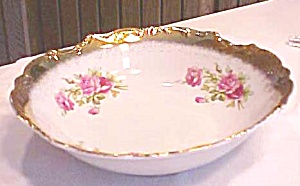 Porcelain Bowl Roses 9 inch (Image1)