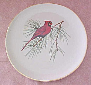 Crookville Cardinal Bird Plate Iva-Lure 8 inch (Image1)