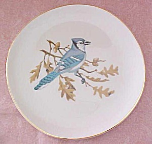 Crookville Blue Jay Bird Plate Iva-Lure 8 inch (Image1)