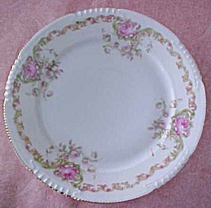 Z S & CO. Bavaria Plate Floral 7 inch (Image1)