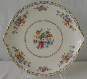 Pope Gosser Royal Dresden Round Platter w/ Handles (Image1)