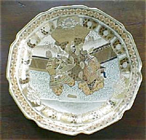 Ornate Oriental Charger Plate F. Cooper (Image1)