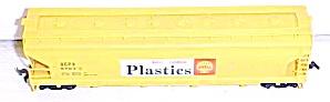 Train Cars HO Shell Plastics Box Car (Image1)