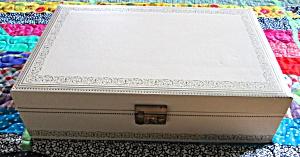 Mele Jewelry Box Leatherette Wooden Key (Image1)