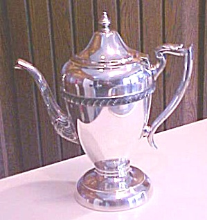 Hartford Teapot Silverplate 1920's (Image1)