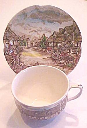 Johnson Brothers English Countryside Tea Cup Saucer (Image1)