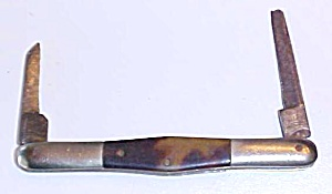 National Double Blade Pen Pocket Knife (Image1)