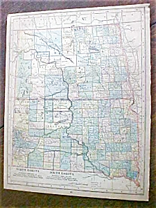 Map North Dakota South Dakota Arkansas 1901