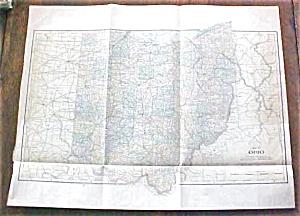 Antique Map Ohio 1901 Large Foldout (Image1)