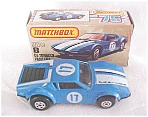 Matchbox DE TOMASO PANTERA No. 8 NMIB (Image1)