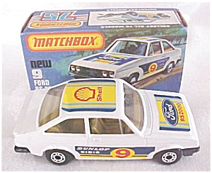 Matchbox No. 9 Ford RS 2000 MIB (Image1)