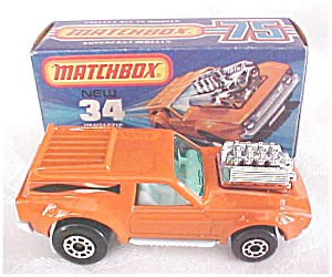 Matchbox No. 34 Vantastic Mib