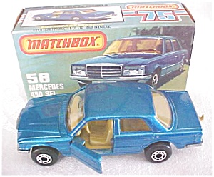 Matchbox No. 56 Mercedes 450 SEL MIB (Image1)