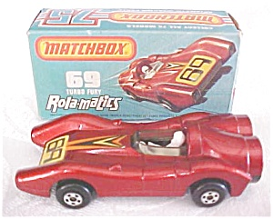 Matchbox No. 69 Turbo Fury MIB (Image1)