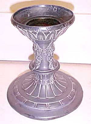 Ornate Cast Lamp Base Antique (Image1)