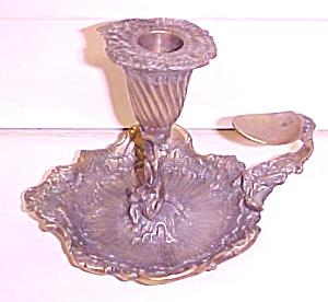Ornate Chamberstick Candle Holder ROYAL SHEFFIELD (Image1)