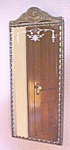 Ornate Mirror Scallop Beveled Glass Molded Ornate Wall (Image1)