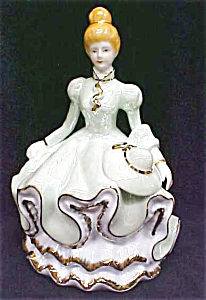 Music Box Southern Belle Porcelain Exquisite