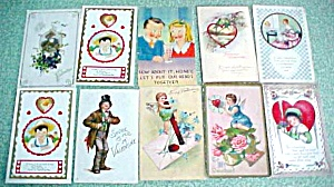 Postcard Lot Valentines New Years Easter 49PC (Image1)