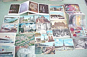 Postcard Lot Europe Japan Egypt Israel Canada 77 PC (Image1)