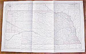 Antique Map Nebraska 1906 Large Fold Out (Image1)