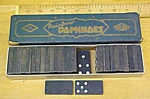 Rainbow Dominoes Vintage w/Original Box (Image1)