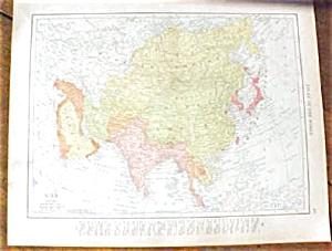 Map Asia & Turkey 1912 (Image1)