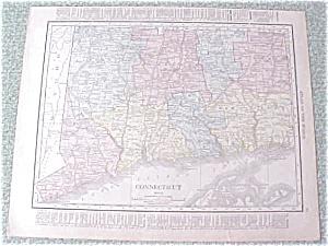 Antique Map Connecticutt New York 1912 Antique (Image1)