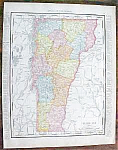 Map Vermont Massachusetts 1912 (Image1)
