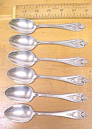 Rogers Tea Spoons Old Colony 6 Pcs. 1911