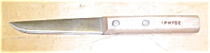 I.P. HYDE Wood Handled Knife (Image1)