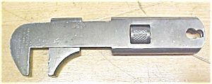 "F. Mossberg 5"" Bicycle Wrench 1895 Patent (Image1)"