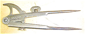 W. Schollhorn Excelsior Wing Divider Rare! (Image1)