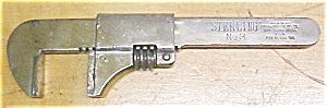 Frank Mossberg No.3 Sterling  Adjustable Wrench (Image1)