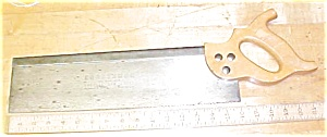 Craftsman Miter / Back Saw Sharpened 16 inch Mitre (Image1)