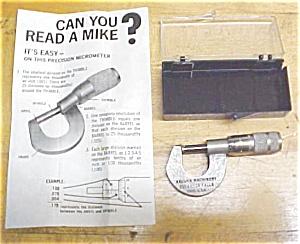 "Vaughn Machinery 0-.5"" Advertising Micrometer (Image1)"