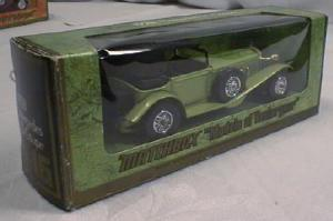 Matchbox 1928 Mercedes Ss Coupe Y-16 Mib