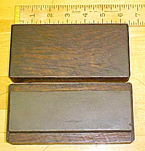 6 Inch Oil Sharpening Stone W/ Oak Case